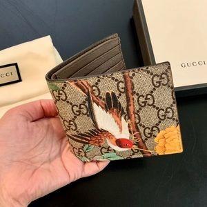 Authentic Gucci Suprene Hummingbird Wallet
